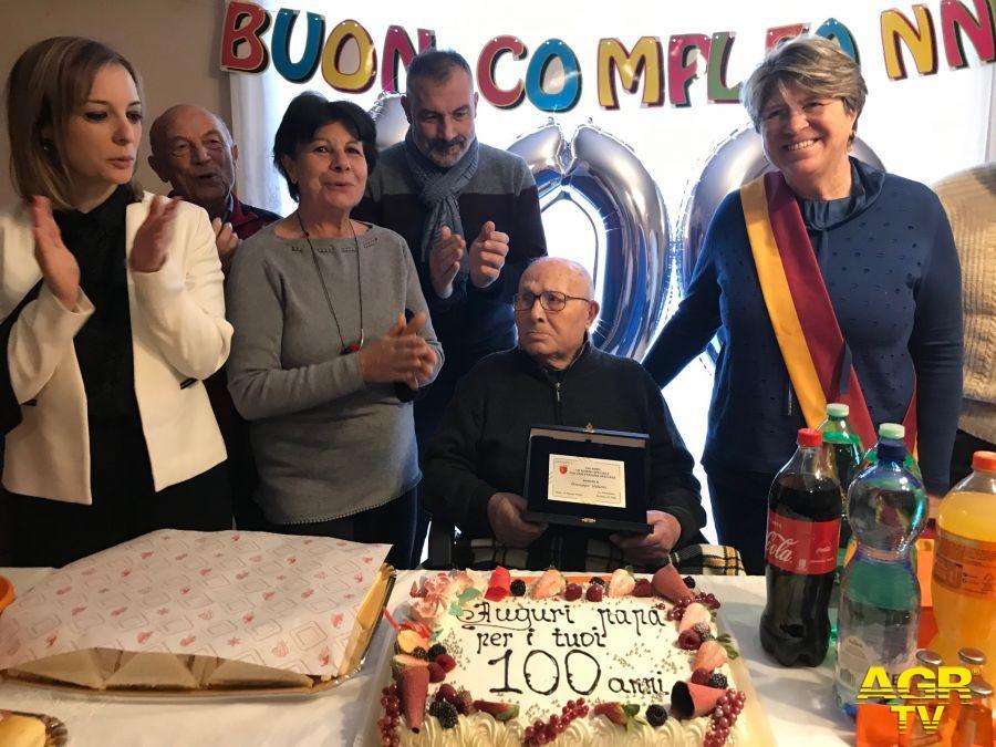 Municipio X, Auguri per i 100 anni! del signor Giuseppe Valenti