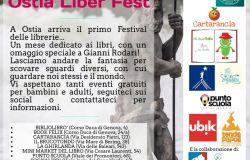 Ostia Liber Fest, al via il Festival delle librerie
