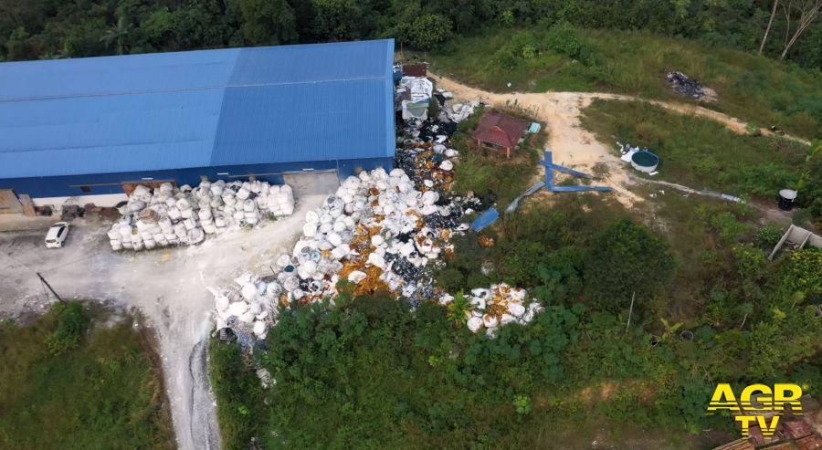 Malesia, traffico illecito di rifiuti, l'inchesta di Greenpeace