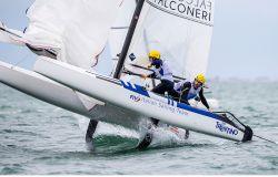 Vela, campionati giovanili in coppia, la sfida dei catamarani