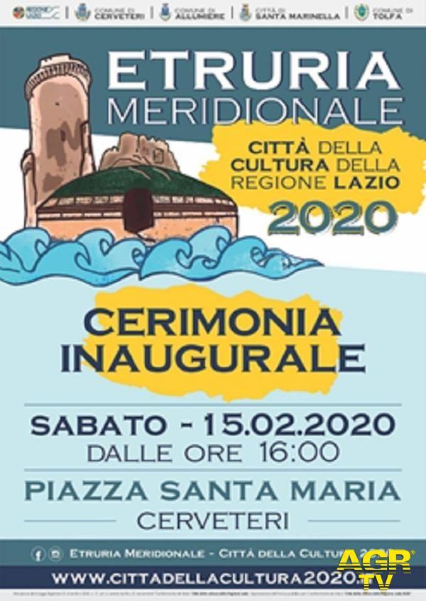 Cerveteri, sabato incoronata Capitale della cultura del Lazio