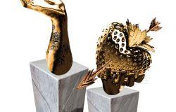 Nemi, opera dell' artista Marco Manzo dedicata all'amore