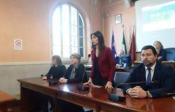 Virginia Raggi, Sindaca di Roma in aula del consiglio del X municipio per il voto sul P.U.A.
