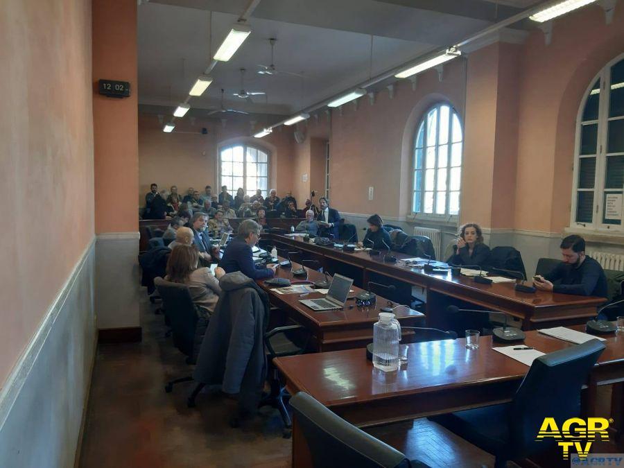 Consiglieri del consiglio del X municipio per il voto sul P.U.A.