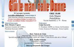 8 marzo Giù le mani dalle donne convegno al Palafilkjam col giudice De Gioia