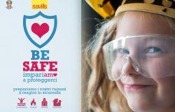 BE SAFE: 15.000 bambini a scuola di sicurezza per apprendere la prevenzione attraverso il gioco