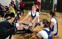 Roma, in 700 ai Campionati open indoor di rowing