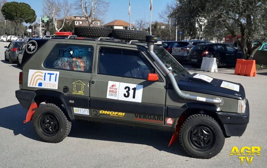 La vettura di Massimo Zizzari è al suo secondo Pandaraid