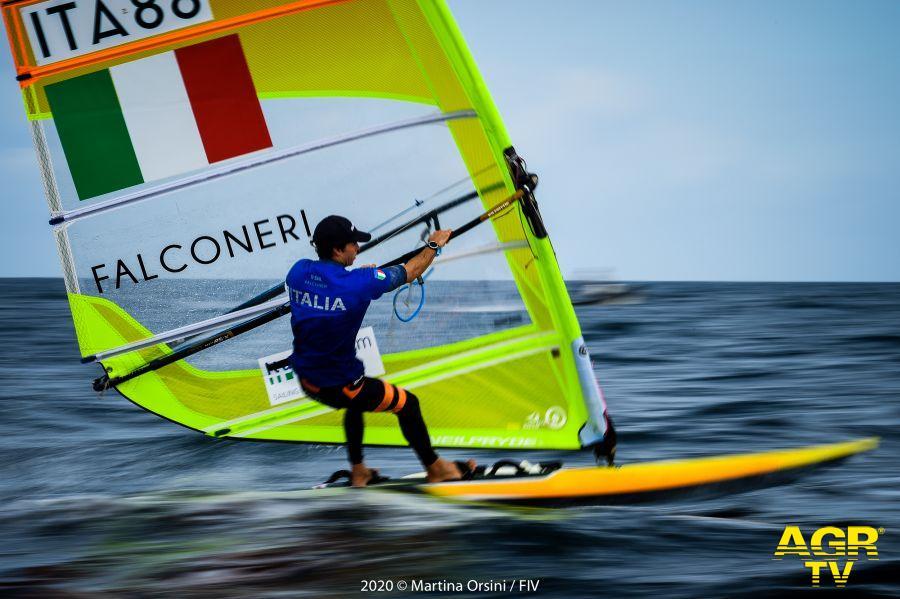 Vela, windsurf olimpico, sfida mondiale in Australia