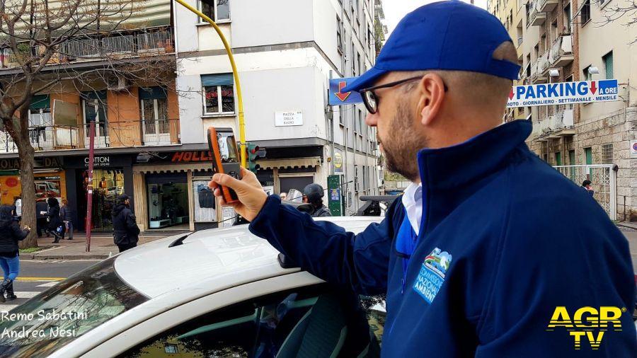 Pm monitoring project,  monitoraggio antismog a Roma
