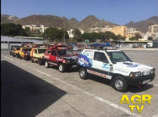 vetture spagnole arrivate ieri al porto di almeria