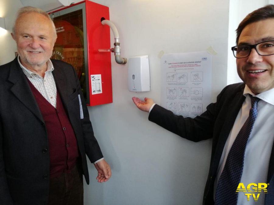 Montino con l'assessore alla sanità regione Lazio D'Amato