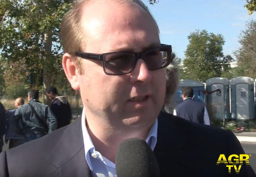 Davide Bordoni, consigliere capitolino della Lega-Salvini Premier