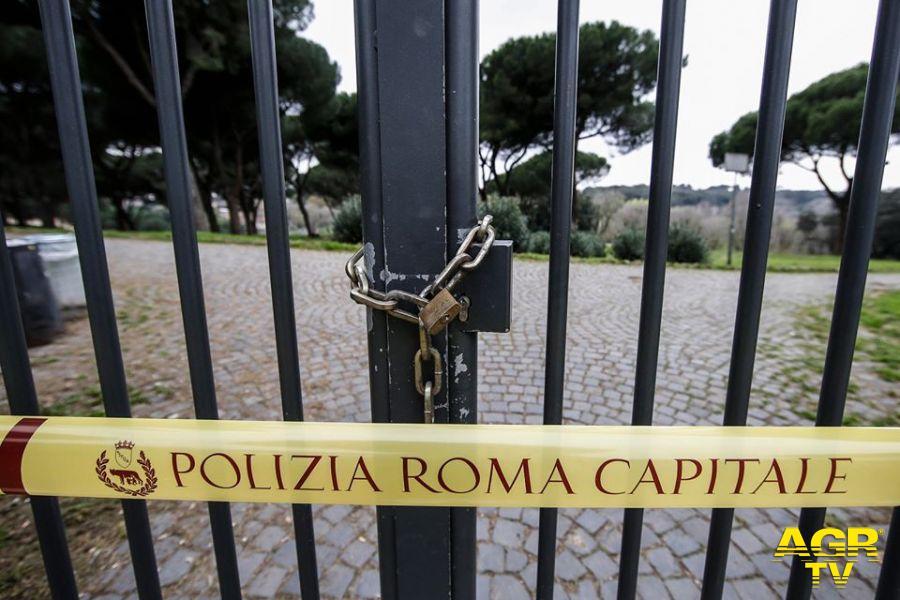 sigilli parchi roma