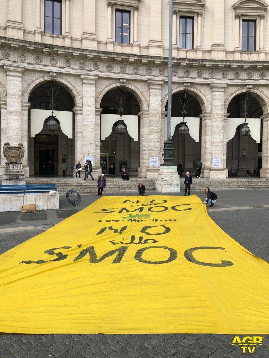 Roma senza smog...si riduce il rischio contagio