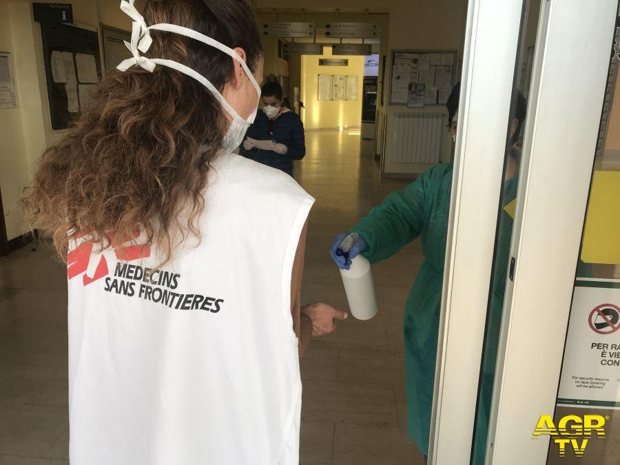 #Coronavirus: MSF a Codogno