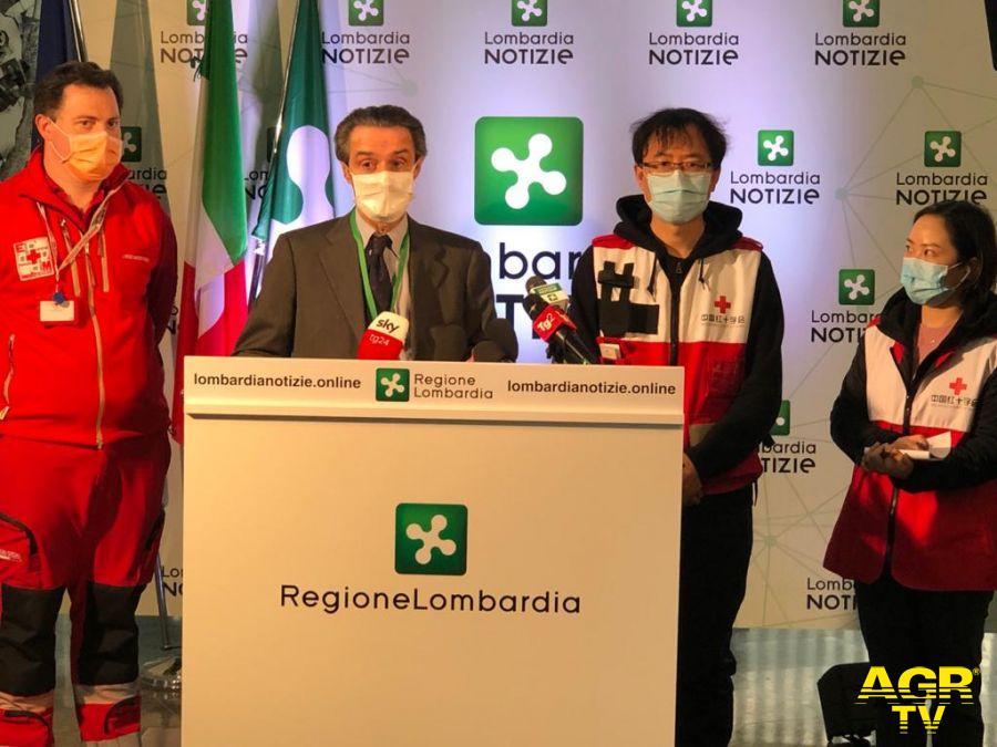 #Coronavirus, Fontana e vicepresidente Croce rossa Cina: troppe persone non rispettatano le regole