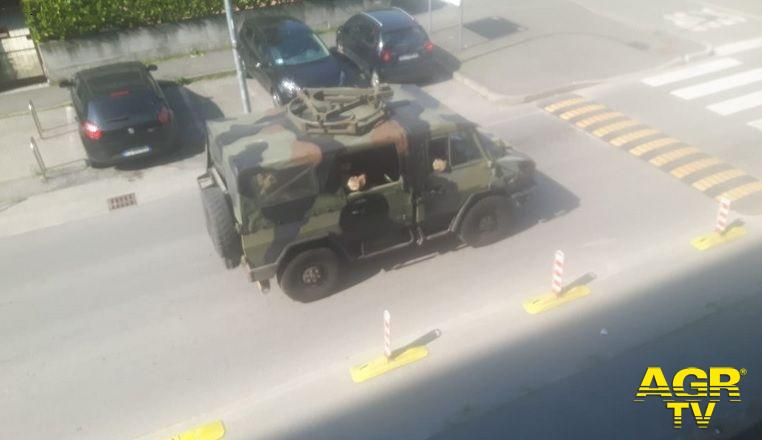 Milano, militari dell'operazione Strade Sicure