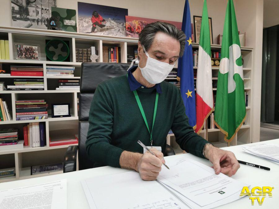 Attilio Fontana, Presidente Regione Lombardia