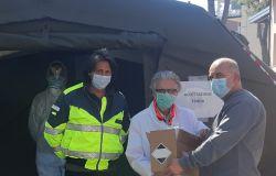 Covid-19, nuove donazioni per gli ospedali della provincia di Chieti