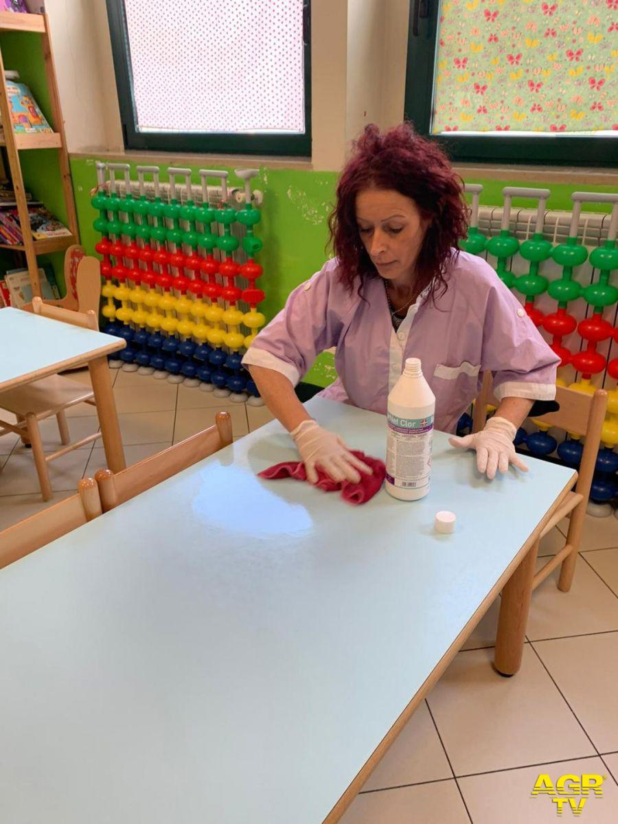 Roma, Igiene insieme in 270 scuole romane