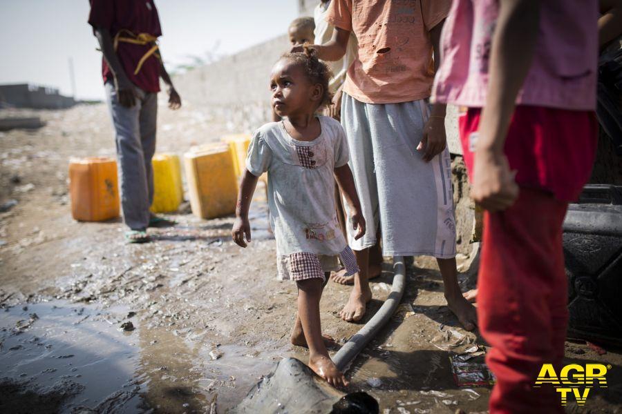Yemen,  Un bambino su cinque soffre di malnutrizione