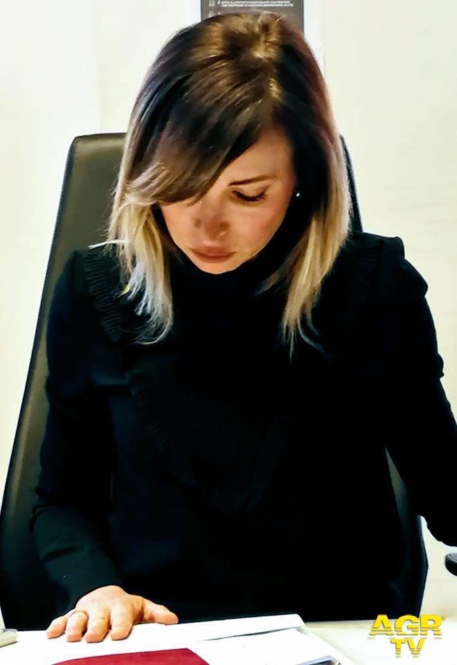 Rachele Mussolini, consigliere comunale della lista civica Con Giorgia
