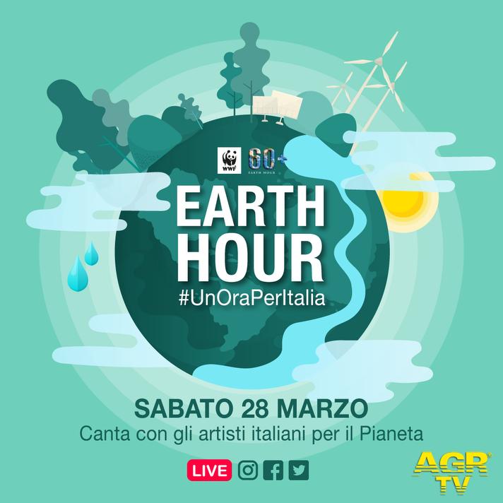 WWF, 28 marzo Earth hour, un'ora per la terra ed un'ora per l'Italia
