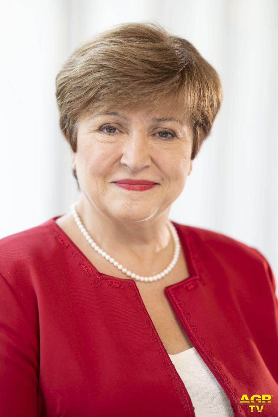 Kristalina Georgieva, amministratore delegato del FMI
