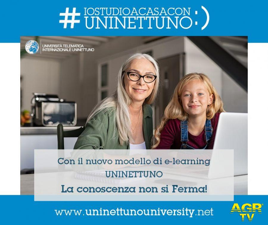 Università Telematica Internazionale Uninettuno lancia la campagna #iostudioacasaconuninettuno