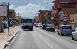 Fiumicino, iniziata sanificazione strade
