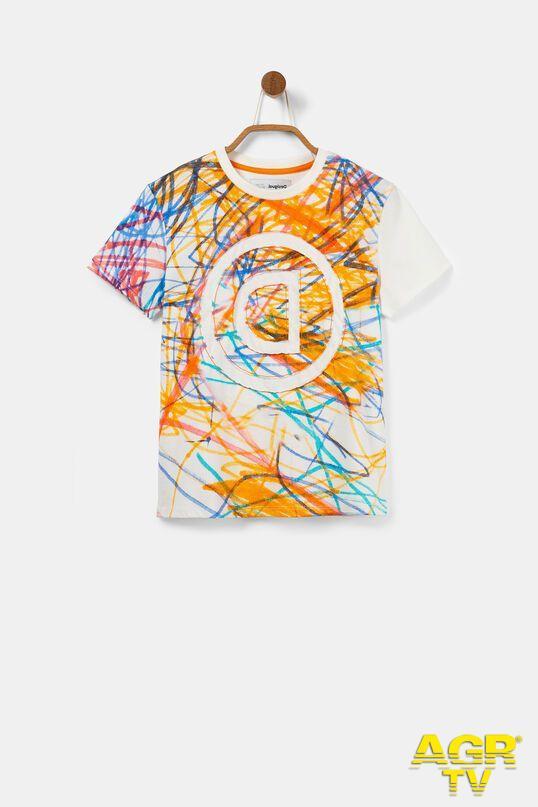 maglietta Desigual autismo