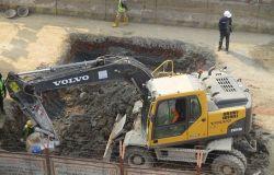 Roma, scavo metro C fermo tra Colosseo e piazza Venezia