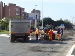 lavori asfaltatura