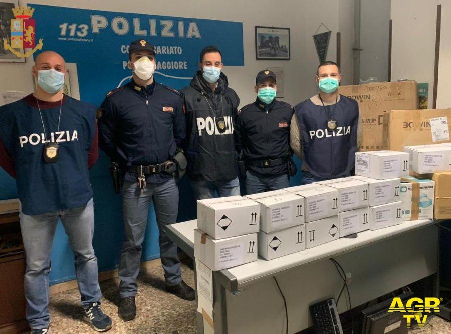 Roma, vendeva mascherine prive di certificazione