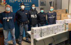 Roma, vendeva mascherine prive di certificazione, denunciato