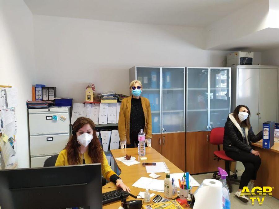 assistenti sociali al lavoro