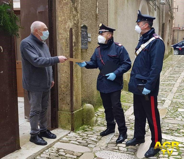 carabinieri pensione a casa