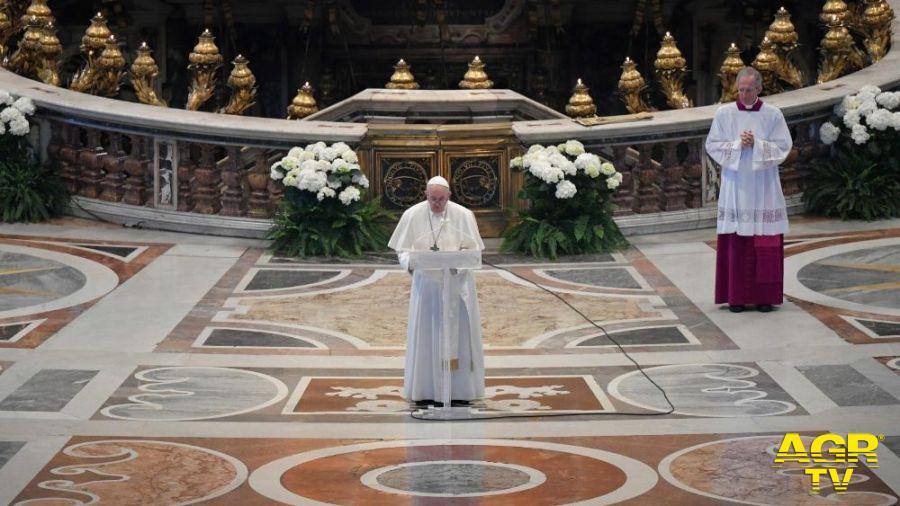 Papa Francesco, il messaggio Urbi et Orbi ai tempi della pandemia