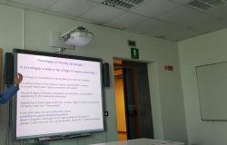 il prof. Andrea Perali