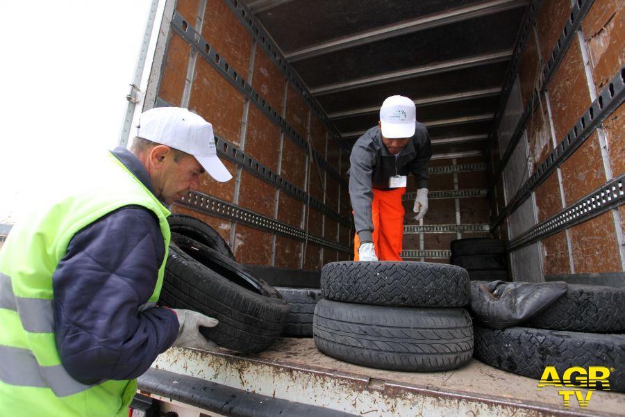 Lazio, il riciclo dei pneumatici eccellenza regionale