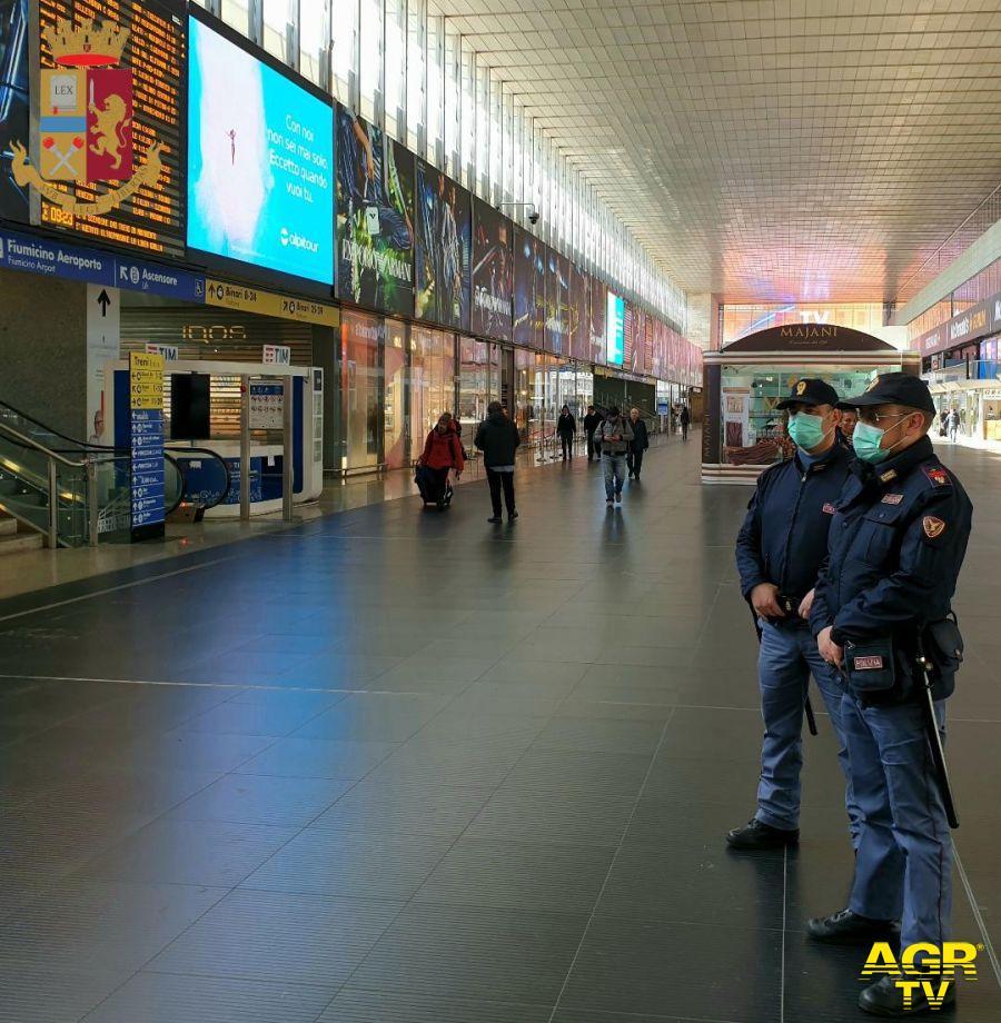 polizia a Termini