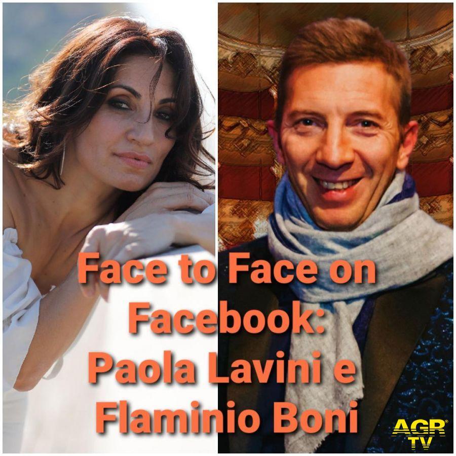 face to face flaminio Boni e Paola Lavini