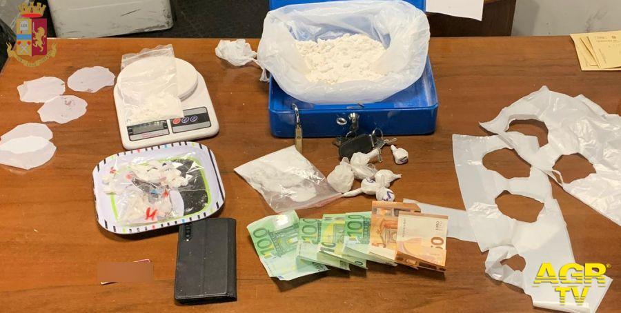 Soldi e droga sequestrati