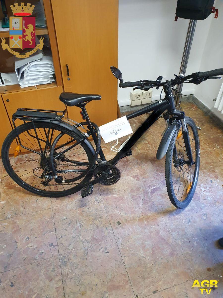 la bici elettrica che volevano rubare