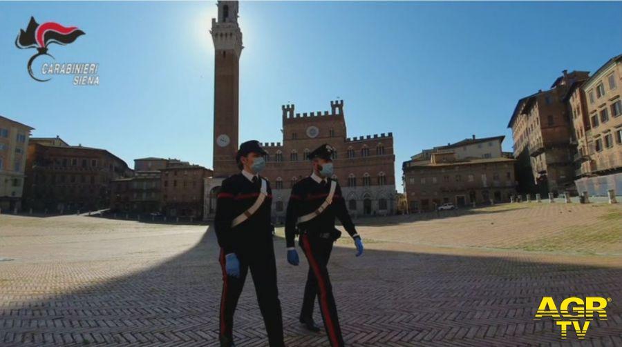 Siena AWARDS, carabinieri protagonisti