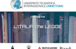 UNINETTUNO lancia l'iniziativa L'Italia che legge insieme alle case editrici Piemme, Sperling & Kupfer, Mondadori Electa e Rizzoli Illustrati