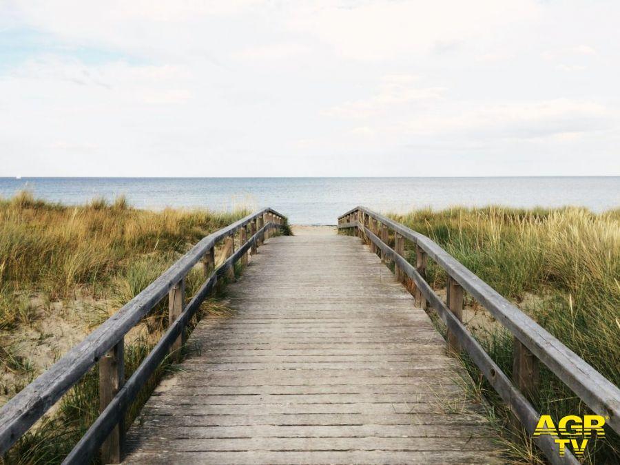accesso spiagge Capocotta