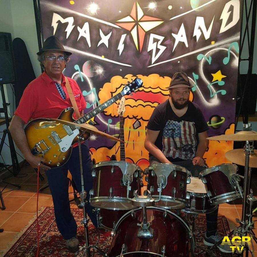 La band Massimiliano e Sebastiano
