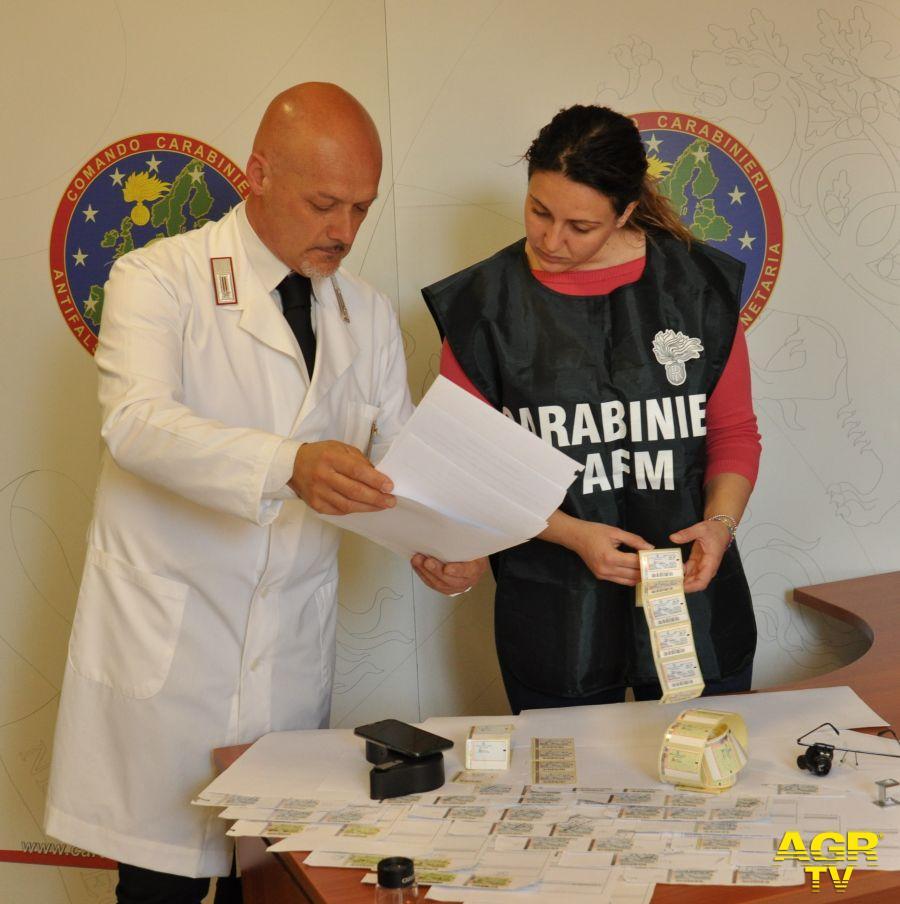carabinieri reparto antifalsificazione